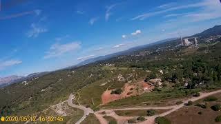 Hubsan H501SS drone Onepaa x2000 camera Aomway Diamond FPV antenna 700m distance flight