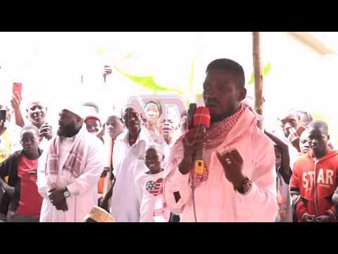 Bobi Wine leero yeebuuzizza ku be Gomba
