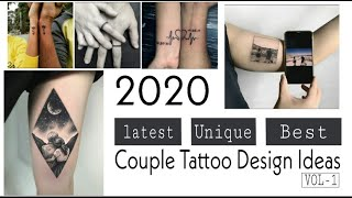 Latest Couple Tattoo Designs 2020  || UNIQUE || BEST || NEW   Relationship Goals