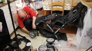 Graco double stroller stadium duo pushchair buggy for twins review