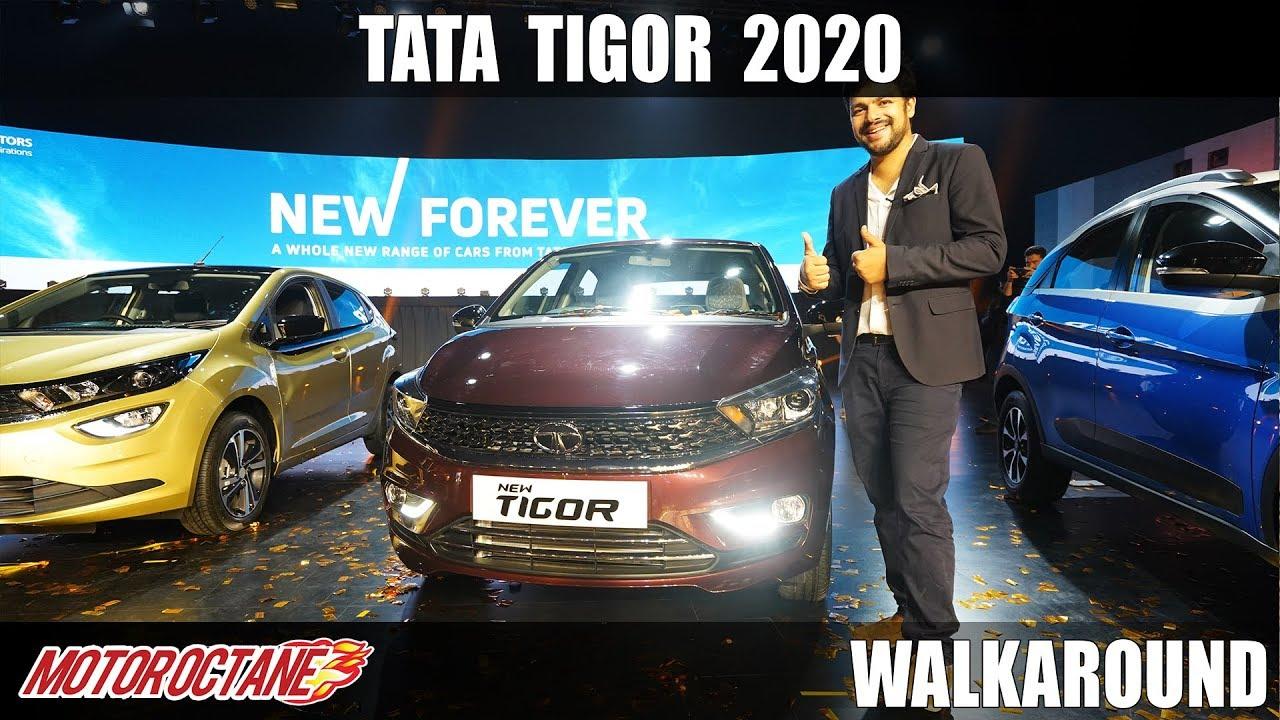 Motoroctane Youtube Video - 2020 Tata Tigor BS6 Walkaround | Hindi | MotorOctane