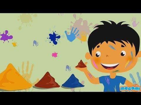 Eco Friendly Holi Colours | Mocomi Kids