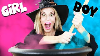 GENDER REVEAL of our Baby in Haunted House