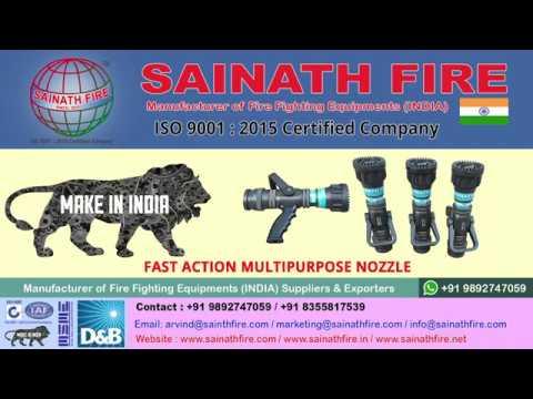 Constant Flow Fire Nozzle