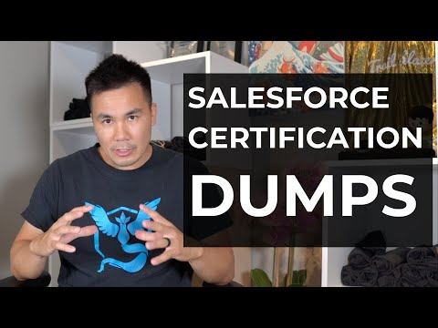 Salesforce Certification Dumps - YouTube