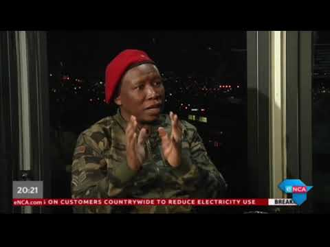 As It Happens with EFF leader Julius Malema. Part 2