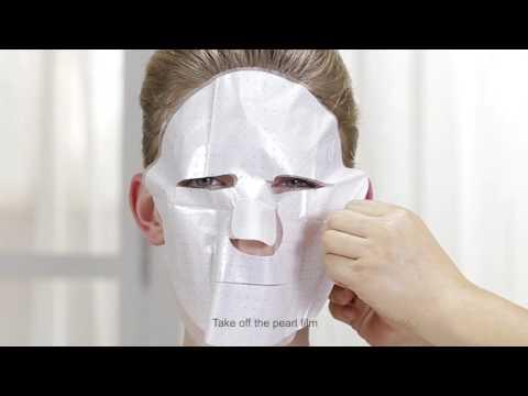 Die Maske für die Person mit azetilsalizilowoj die Aciden