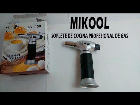 Mikool - Soplete de cocina profesional de gas