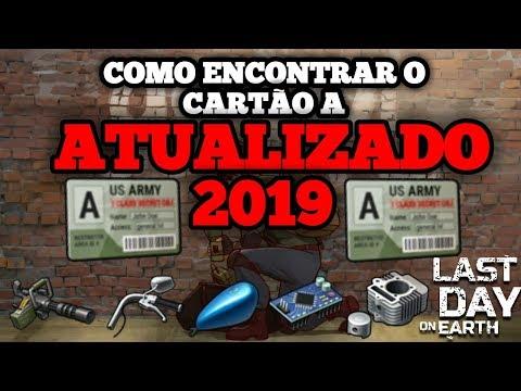 ✔COMO ENCONTRAR O CARTÃO A ATUALIZADO 2019 - Last Day on Earth: Survival