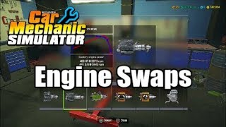 how to engine swap in car mechanic simulator 2018 - Thủ thuật máy