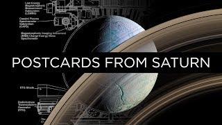 The Strangest Sights Cassini Saw: Postcards From Saturn | NPR