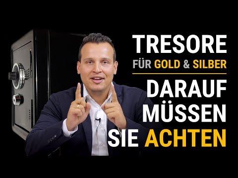 TRESOR KAUFEN 💰 Wichtige Tipps für Ihr Gold & Silber Lager