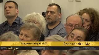 Szentendre MA / TV Szentendre / 2018.03.14.