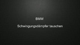 BMW Riemen Schwingungsdämpfer tauschen