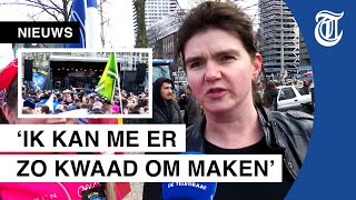 Woedende boeren protesteren opnieuw in Den Haag