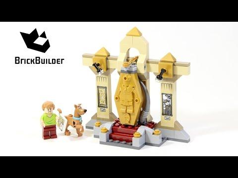 Vidéo LEGO Scooby-doo 75900 : Le mystère du musée de la momie