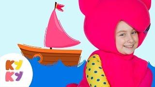 🌊МОРЕ 🌞- КУКУТИКИ -🌴 Развивающая веселая песенка мультик  для детей малышей про лето