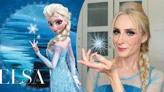 Makyaj : Frozen Elsa Saç ve Makyajı   Frozen Elsa Makeup & Hair   Sebi Bebi