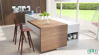 Atim - Kitchen Island Extension Transformables Overview