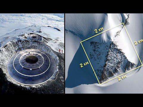 De grootste geheimen en mysteries van Antarctica onthuld