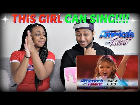 Angelica Hale: 9-Year-Old Earns Golden Buzzer on America's Got Talent REACTION!!!