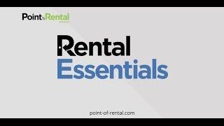 Rental Essentials video