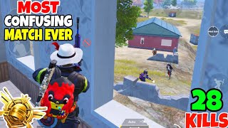 This Was The Most Confusing Match i Ever Played in PUBG Mobile • (27 KILLS) • PUBGM (HINDI)