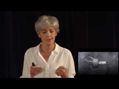 TEDxPanthéonSorbonne Moon Village Claudie Haigneré
