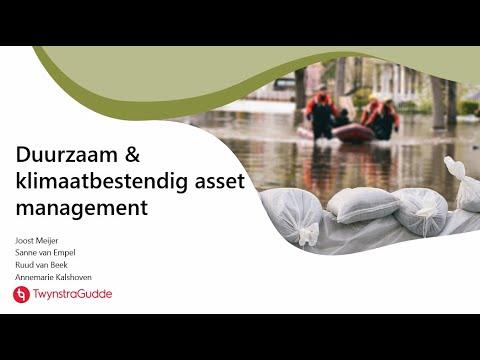 Hoe ontwikkel je duurzaam en klimaatbestendig asset management?
