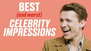 The Best (And Worst) Celebrity Impressions Of Other Celebs   LADbible