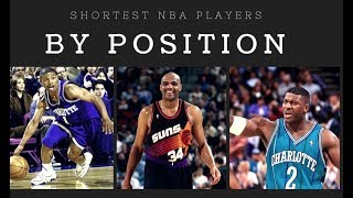 Meet The Shortest Team In NBA History   Shortest NBA Players At Each Position