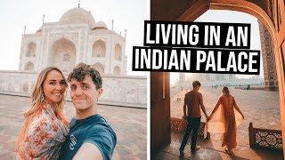 We Slept in a Royal Palace in India | Exploring Taj Mahal & Agra & Karauli