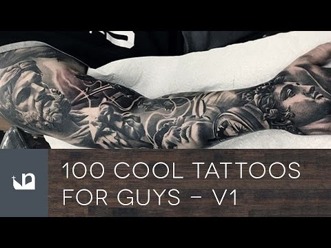 100 Cool Tattoos For Guys - Vol 1