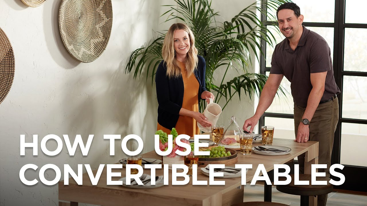 Convertible Dining Room Tables
