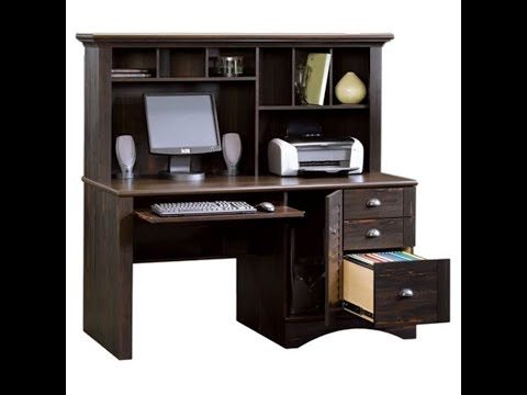 New Harbor View Computer Desk Hutch Review