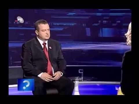 Upitnik,100 dana vlade-premijer Ivica Dacic (23.10.2012),3 deo