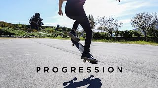1st Month of Skateboarding Progression at Age 27