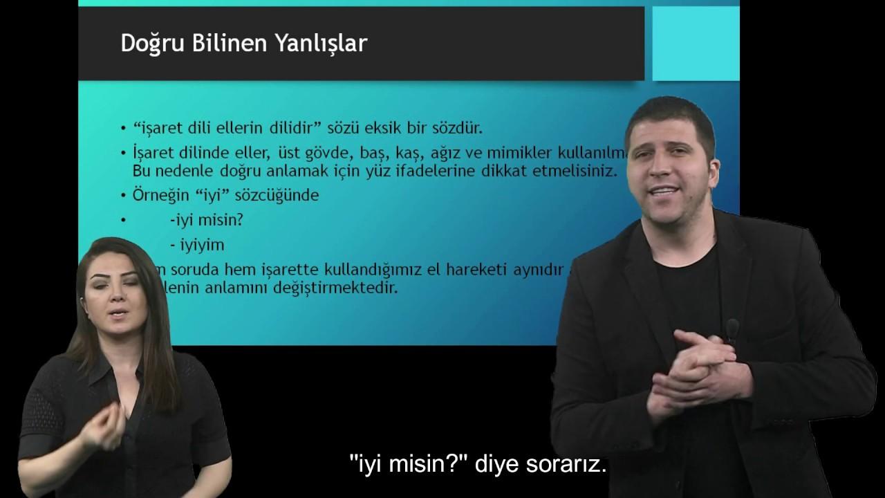 Türk İşaret Dili Ortaokul-Lise Videoları-2