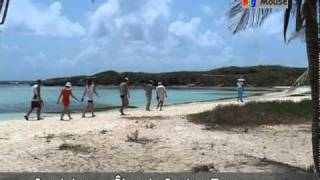 preview picture of video 'Guadeloupe: Iles de Petite Terre (travel clip)'