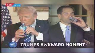 Youth Cafe: Trumps awkward moment