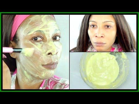 Facial mask laban acne, tuyong balat