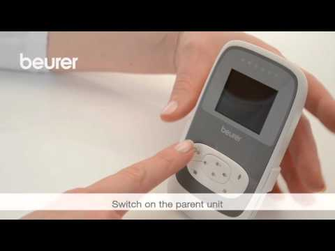 Quick Start Video for the BY 77 Video Baby Monitor from Beurer
