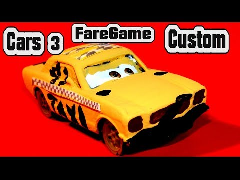 Cars 3 Custom Faregame Demolition Derby Crazy 8 Cars Learn Colors With  Primer Lightning McQueen