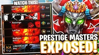 high LEVEL PRESTIGE MASTERS GET EXPOSED in BLACK OPS 4..