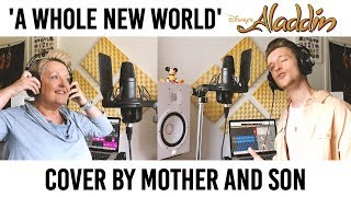 A Whole New World   Aladdin  Cover By Mother And Son (Jordan Rabjohn Cover)