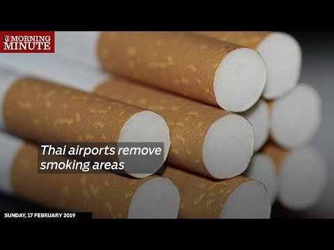 Thai airports remove smoking areas