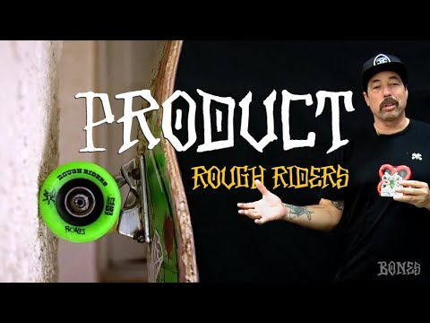 BONES WHEELS ROUGH RIDERS INFORMATIONAL VIDEO