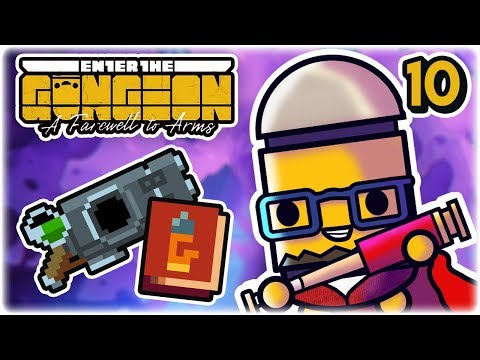 Fatline & Magazine Rack | Part 10 | Let's Play: Enter the Gungeon: A Farewell to Arms | PC Gameplay