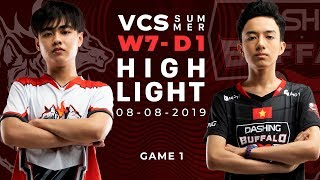 CES Vs DBL HighLights [VCS Mùa Hè 2019][08.08.2019][Ván 1]