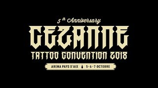 Cezanne Marseille Tattoo Convention